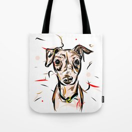 Peach Solomita Tote Bag