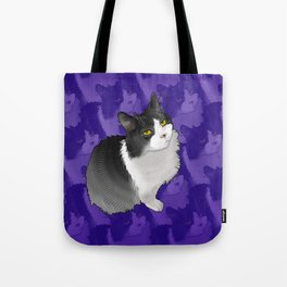 Spider Man the Cat Tote Bag
