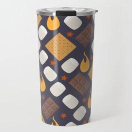 Smores on the Campfire Travel Mug