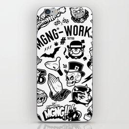 MGNG WORKS. TATTOO iPhone Skin