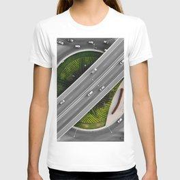 Art from above T-shirt
