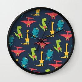 Dinos In Speedos Wall Clock