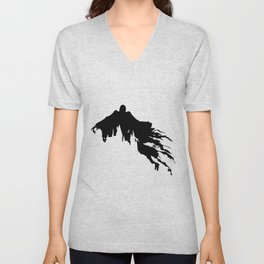 Dementor at Hogwarts Unisex V-Neck