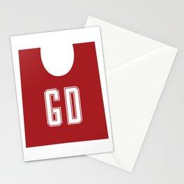 Netball GD Stationery Cards