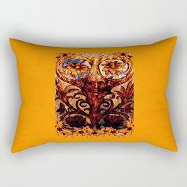 The Corn Man Rectangular Pillow