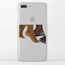 From Crown to Toe Clear iPhone Case
