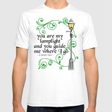 You Are My Lamplight (commission) Mens Fitted Tee SMALL White