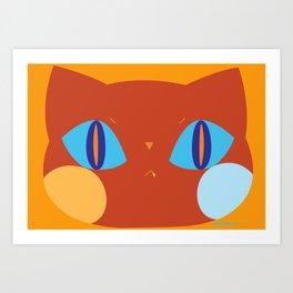 cat_04 Art Print