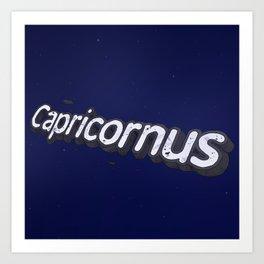 Google's Space | Capricornus Art Print