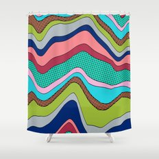 Ignite our Sky Shower Curtain