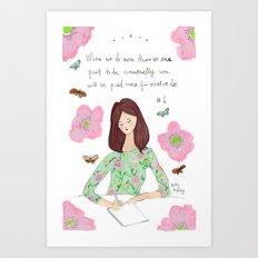 Do More - Zig Wisdom Inspiration Print #1 Art Print