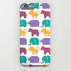 Fun at the Zoo: Pattern Slim Case iPhone 6s