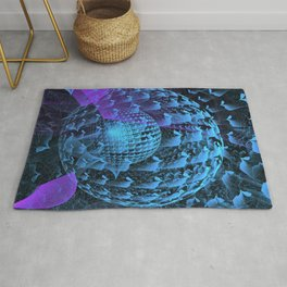 Spherical Abstract Rug