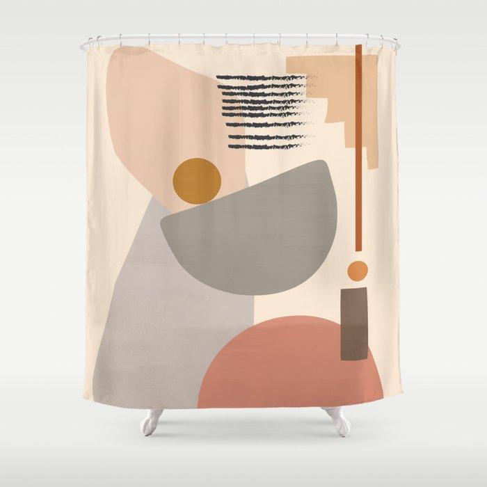 Modern Art II Shower Curtain