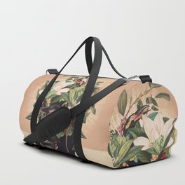 Birds are my Real Origin Reversed Duffle Bag