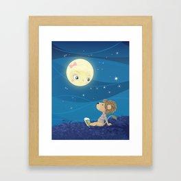 Lav & Luna Framed Art Print