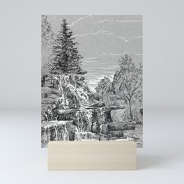 Ink on paper: Bay Beach Wildlife Sanctuary Mini Art Print