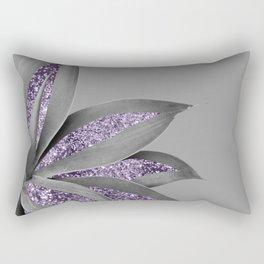 Agave Finesse Glitter Glam #4 #tropical #decor #art #society6 Rectangular Pillow