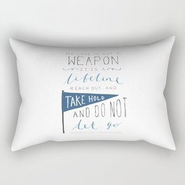 Redeeming Love Rectangular Pillow
