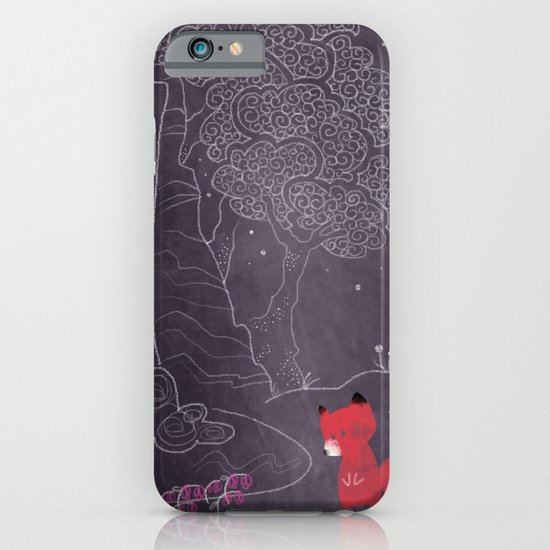 Purple on the lake iPhone & iPod Case