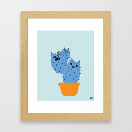 Catcus - Prickly Pears Framed Art Print