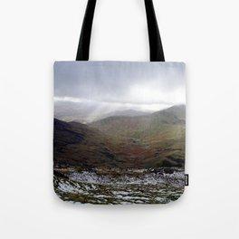 Mount Snowdon, Snowdonia, Wales Tote Bag