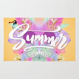 Pink Summer Rug