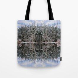 Maine Maple Sky Fairy Fantasy Tote Bag