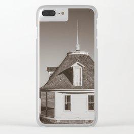 Hurd Round House, Wells County, North Dakota 24 Clear iPhone Case