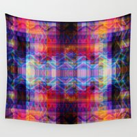 aztec Wall Tapestries featuring Aztec by deff