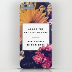 The Pace Of Nature Slim Case iPhone 6 Plus