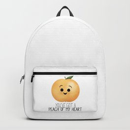 You've Got A Peach Of My Heart Backpack