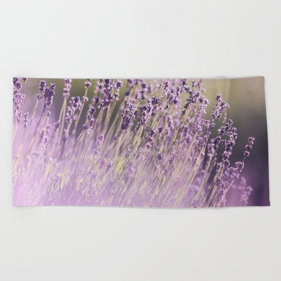 Spring Purple II Beach Towel