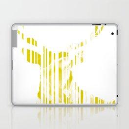 Geometric Yellow Stag Laptop & iPad Skin