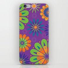 Psychoflower Purple iPhone & iPod Skin