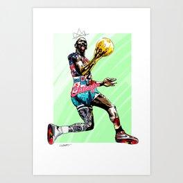 MichaelJordan | The Last Dance Art Print