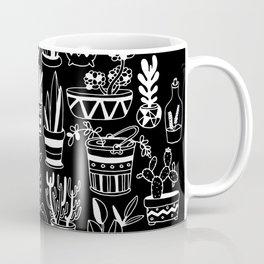 Succulent Party (Night Version) Coffee Mug