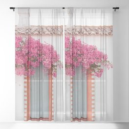 Summer Door Sheer Curtain