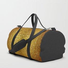 Deep gold glass mosaic Duffle Bag