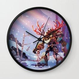 New Friend Wall Clock