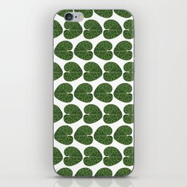 Cyclamen leaf pattern iPhone Skin