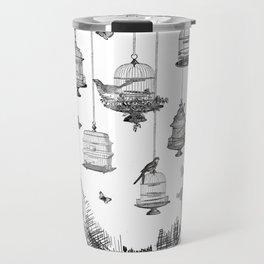 Aquarium Bulb Bird Houses Travel Mug