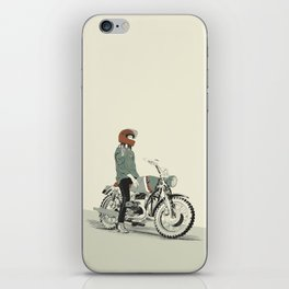 The Woman Rider iPhone Skin