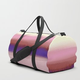 A Beautiful Morning Fog Duffle Bag