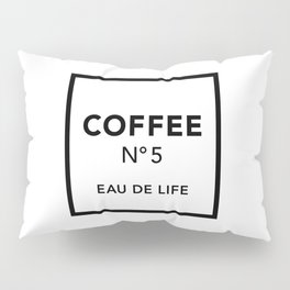 Coffee No5 Pillow Sham