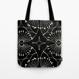 Noir Tapestry Tote Bag