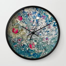Pour 090819a Wall Clock