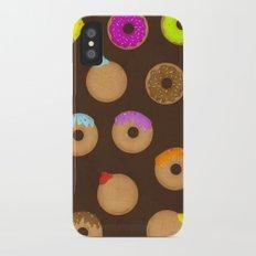 Donuts iPhone X Slim Case