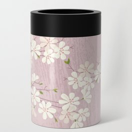 Pink Blossom Can Cooler