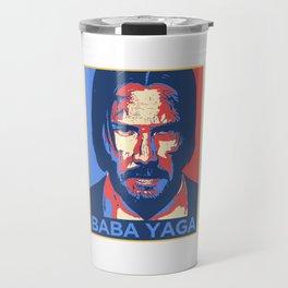 John Wick Baba Yaga Travel Mug